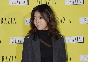 Wonder Girls's Yubin attends Italy Fashion Magazine 'GRAZIA' Launching Party