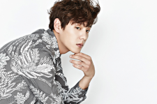 korean actor Kwak Si Yang instyle magazine november 2015