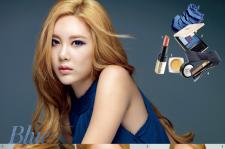 T-ARA Qri InStyle Magazine November 2015 Photoshoot Makeup