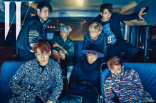 GOT7 W Korea Magazine November 2015 Photos
