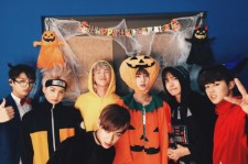 BTS donned costumes for their Naver V Halloween Party.