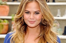 Chrissy Teigen at the RAYE Shoe Launch event,