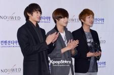SHINee attends for Comedian Hong Rok Gi's Wedding