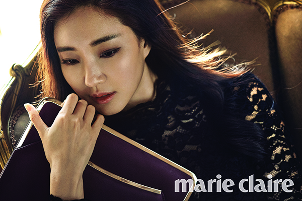 Kim Sa Rang Looks Charming In Lanvin For Marie Claire News Kpopstarz