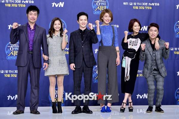 Press Conference of tvN New Comedy Series 'Conte and the City' - Oct 26, 2015key=>0 count35