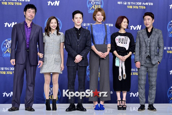Press Conference of tvN New Comedy Series 'Conte and the City' - Oct 26, 2015key=>10 count35