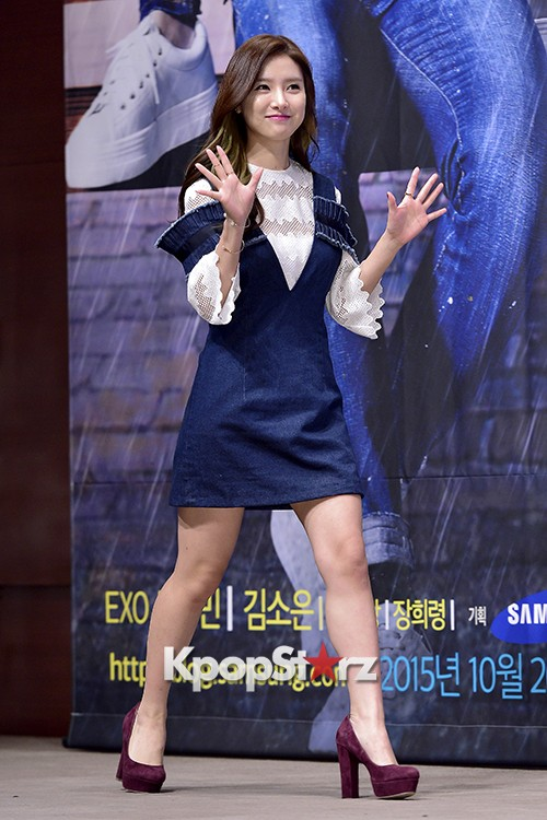 Kim So Eun Attends a Press Conference of Samsung Web Drama 'Fall in Challenge' - Oct 26, 2015key=>4 count49