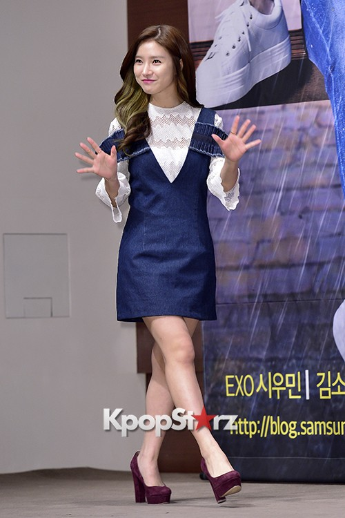 Kim So Eun Attends a Press Conference of Samsung Web Drama 'Fall in Challenge' - Oct 26, 2015key=>19 count49