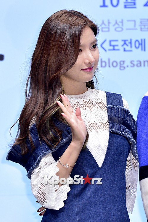 Kim So Eun Attends a Press Conference of Samsung Web Drama 'Fall in Challenge' - Oct 26, 2015key=>25 count49