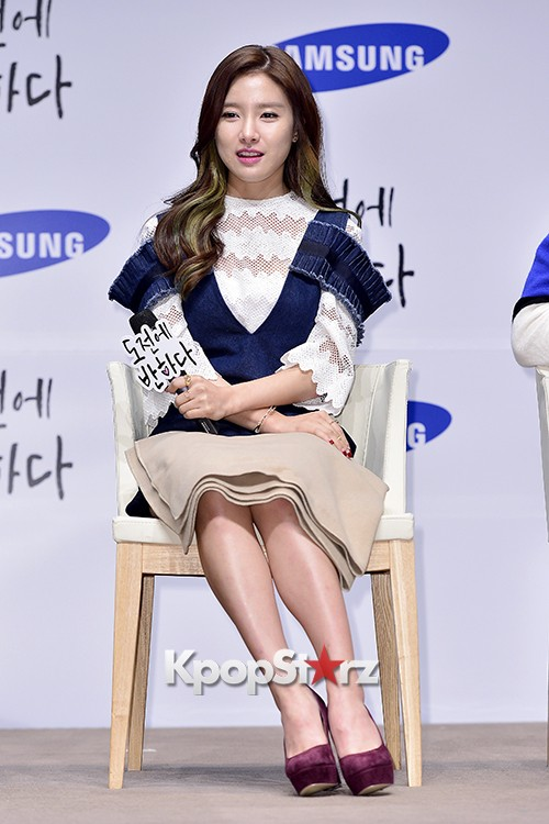 Kim So Eun Attends a Press Conference of Samsung Web Drama 'Fall in Challenge' - Oct 26, 2015key=>27 count49