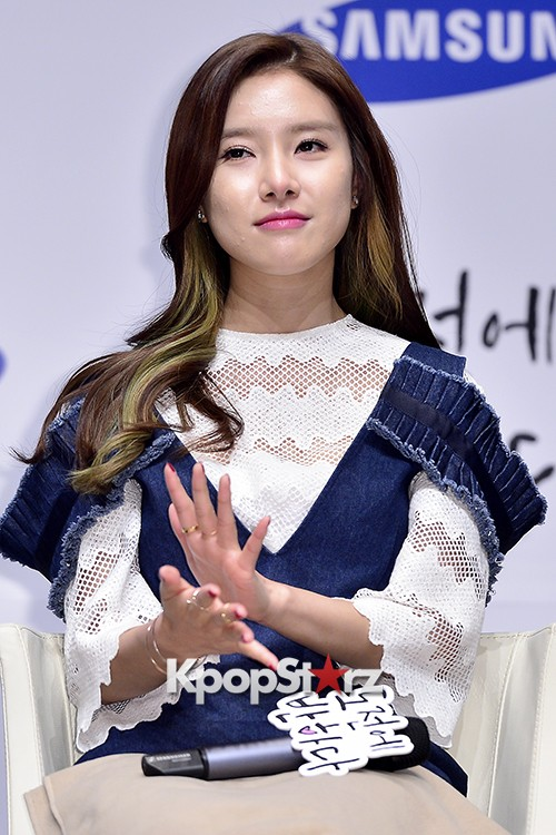 Kim So Eun Attends a Press Conference of Samsung Web Drama 'Fall in Challenge' - Oct 26, 2015key=>28 count49