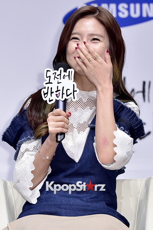 Kim So Eun Attends a Press Conference of Samsung Web Drama 'Fall in Challenge' - Oct 26, 2015key=>31 count49