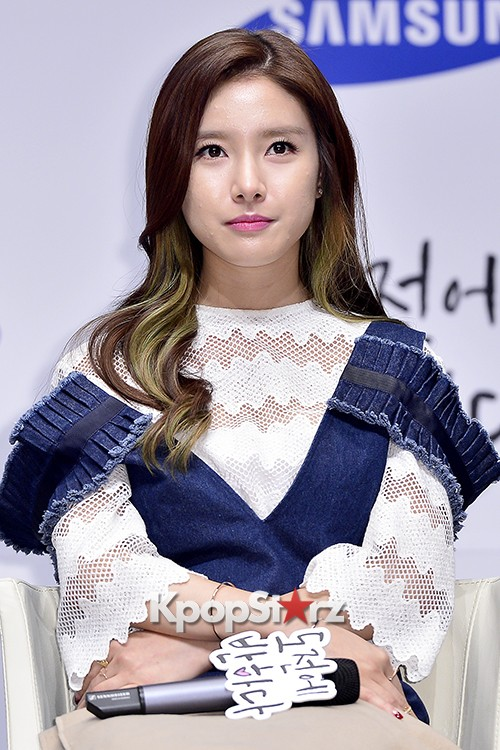 Kim So Eun Attends a Press Conference of Samsung Web Drama 'Fall in Challenge' - Oct 26, 2015key=>35 count49