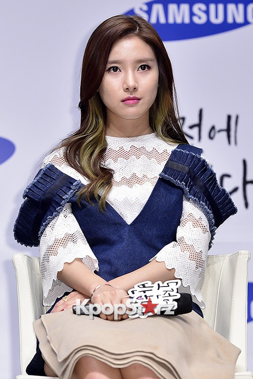 Kim So Eun Attends a Press Conference of Samsung Web Drama 'Fall in Challenge' - Oct 26, 2015key=>36 count49