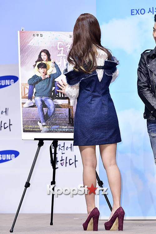 Kim So Eun Attends a Press Conference of Samsung Web Drama 'Fall in Challenge' - Oct 26, 2015key=>40 count49