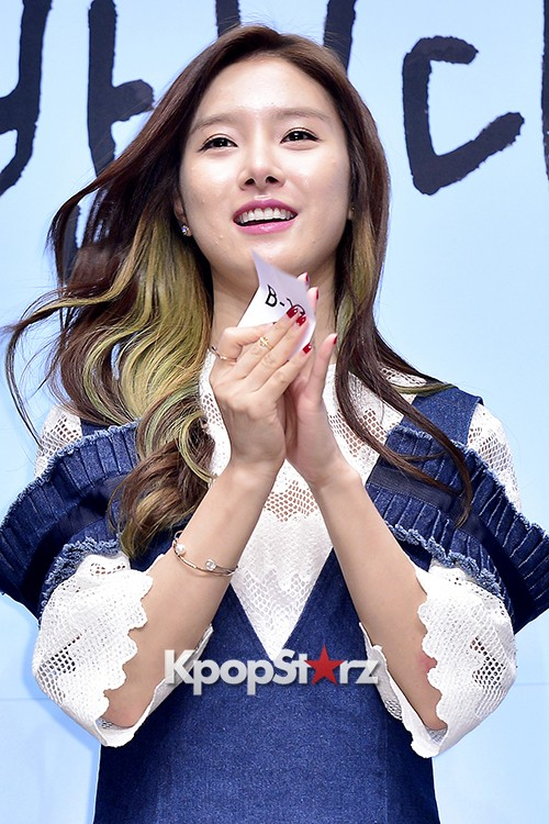 Kim So Eun Attends a Press Conference of Samsung Web Drama 'Fall in Challenge' - Oct 26, 2015key=>41 count49