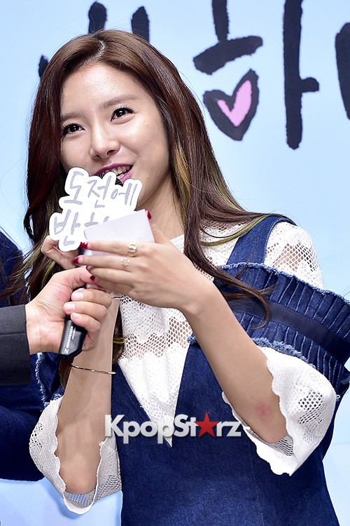 Kim So Eun Attends a Press Conference of Samsung Web Drama 'Fall in Challenge' - Oct 26, 2015key=>44 count49