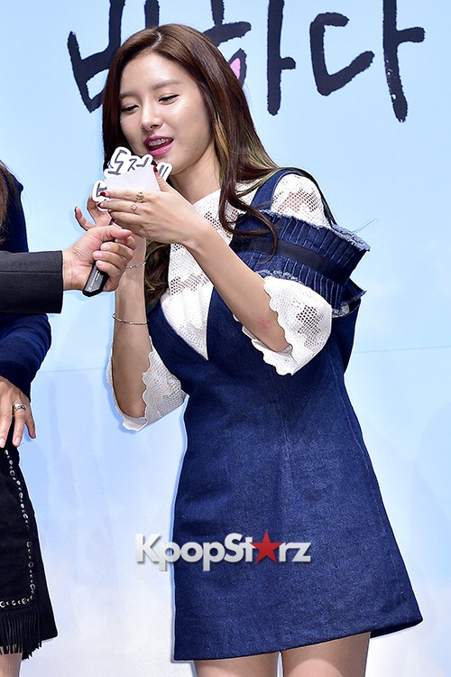 Kim So Eun Attends a Press Conference of Samsung Web Drama 'Fall in Challenge' - Oct 26, 2015key=>45 count49