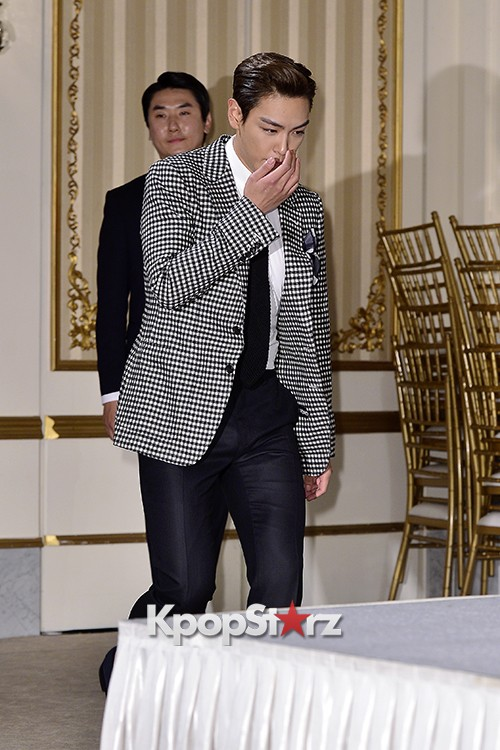 Big Bang's T.O.P Attends a Press Conference of Web Drama 'Secret Message' - Oct 28, 2015key=>1 count42