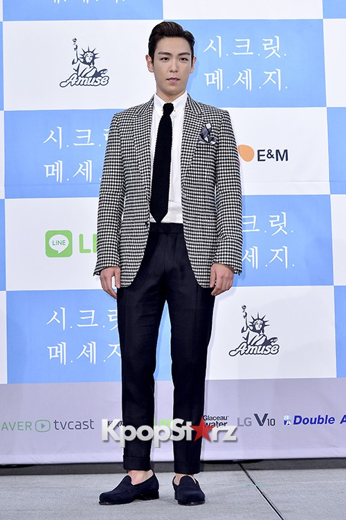 Big Bang's T.O.P Attends a Press Conference of Web Drama 'Secret Message' - Oct 28, 2015key=>3 count42
