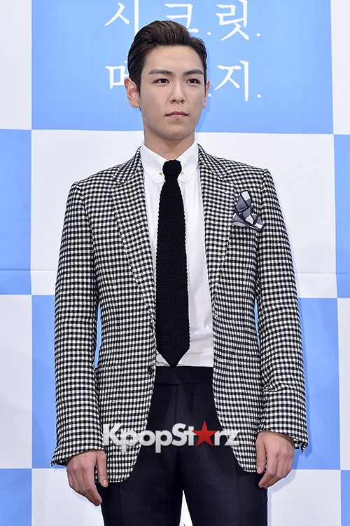 Big Bang's T.O.P Attends a Press Conference of Web Drama 'Secret Message' - Oct 28, 2015key=>4 count42