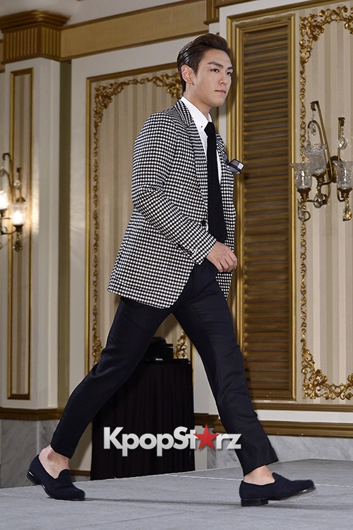 Big Bang's T.O.P Attends a Press Conference of Web Drama 'Secret Message' - Oct 28, 2015key=>5 count42