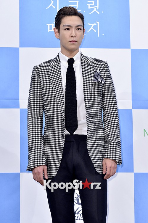 Big Bang's T.O.P Attends a Press Conference of Web Drama 'Secret Message' - Oct 28, 2015key=>6 count42
