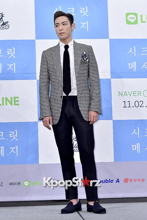 Big Bang's T.O.P Attends a Press Conference of Web Drama 'Secret Message' - Oct 28, 2015key=>8 count42