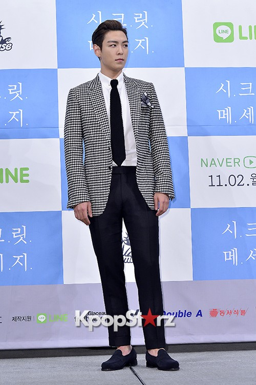 Big Bang's T.O.P Attends a Press Conference of Web Drama 'Secret Message' - Oct 28, 2015key=>11 count42
