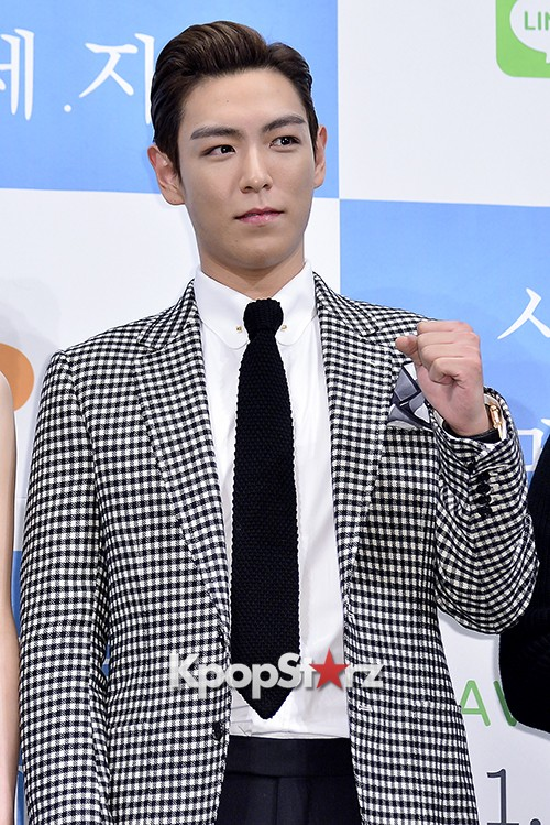 Big Bang's T.O.P Attends a Press Conference of Web Drama 'Secret Message' - Oct 28, 2015key=>16 count42
