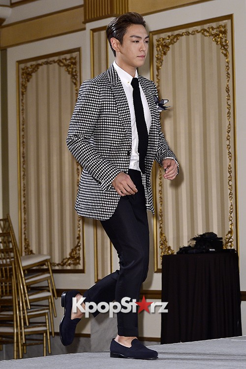 Big Bang's T.O.P Attends a Press Conference of Web Drama 'Secret Message' - Oct 28, 2015key=>17 count42