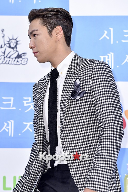 Big Bang's T.O.P Attends a Press Conference of Web Drama 'Secret Message' - Oct 28, 2015key=>22 count42