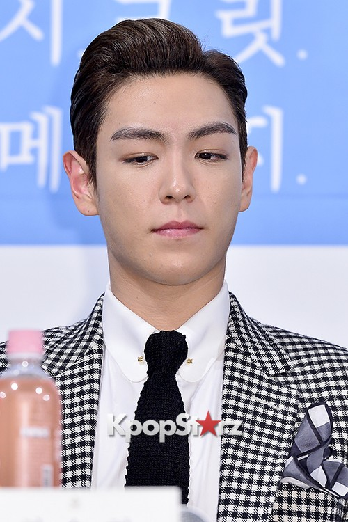 Big Bang's T.O.P Attends a Press Conference of Web Drama 'Secret Message' - Oct 28, 2015key=>23 count42