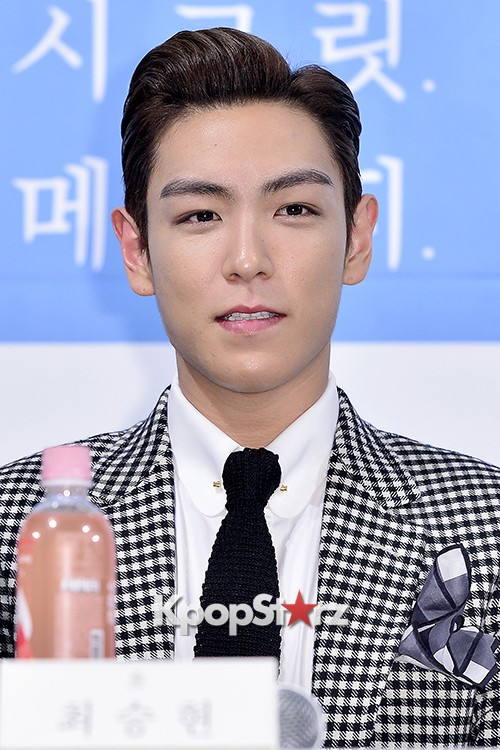 Big Bang's T.O.P Attends a Press Conference of Web Drama 'Secret Message' - Oct 28, 2015key=>26 count42
