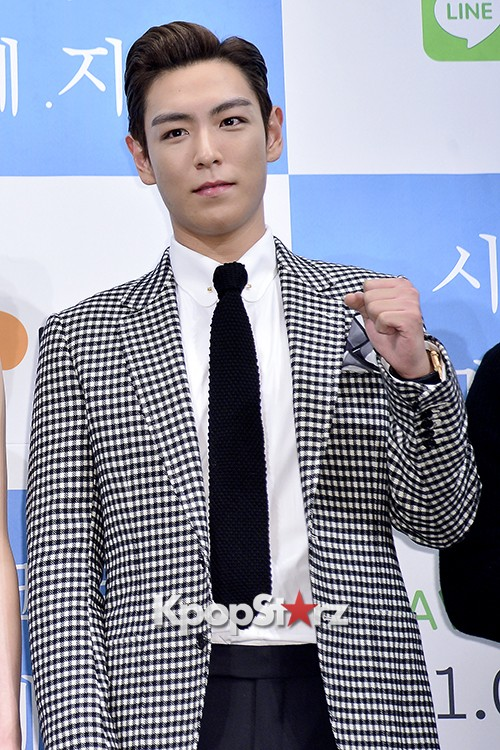 Big Bang's T.O.P Attends a Press Conference of Web Drama 'Secret Message' - Oct 28, 2015key=>27 count42
