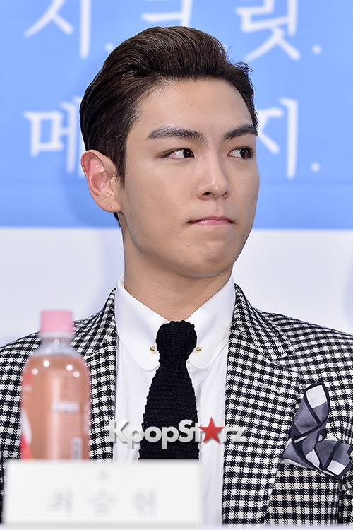 Big Bang's T.O.P Attends a Press Conference of Web Drama 'Secret Message' - Oct 28, 2015key=>33 count42