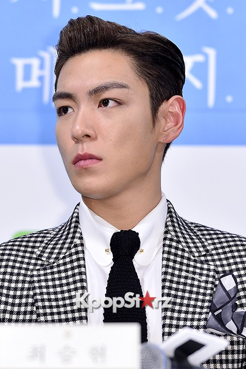 Big Bang's T.O.P Attends a Press Conference of Web Drama 'Secret Message' - Oct 28, 2015key=>39 count42