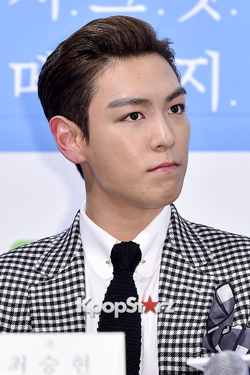 Big Bang's T.O.P Attends a Press Conference of Web Drama 'Secret Message' - Oct 28, 2015key=>41 count42
