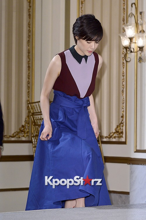 Juri Ueno Attends a Press Conference of Web Drama 'Secret Message' - Oct 28, 2015key=>9 count38