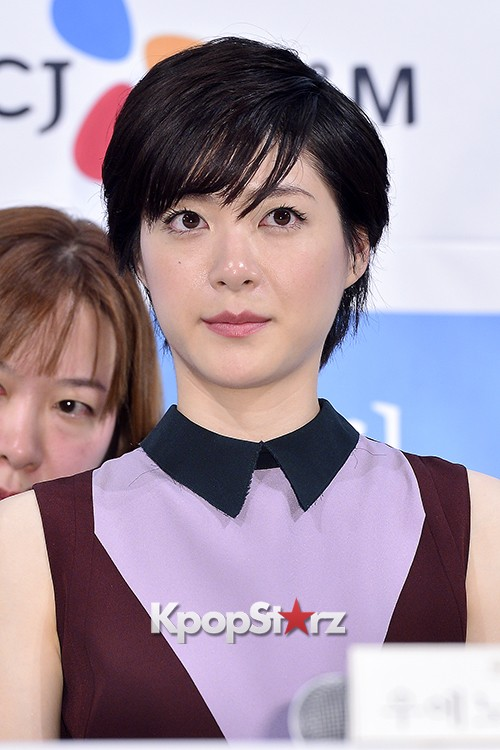 Juri Ueno Attends a Press Conference of Web Drama 'Secret Message' - Oct 28, 2015key=>35 count38