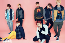 Monsta X The Celebrity Magazine November 2015 Photoshoot