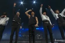 Big Bang bids the crowd farewell.