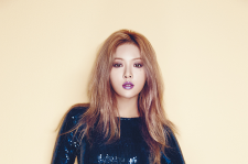 4minute hyuna beauty+ magazine november 2015 photos