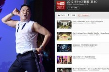 Psy Ranks Number 1 on YouTube Japan for 'Most Watched Video'