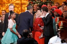 President Obama Shakes Hands with Psy at