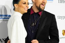 Nicole Richie and Joel Madden at the The 2014 Baby2Baby Gala.