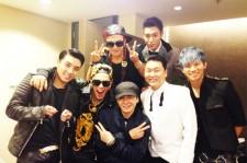 Yang Hyun Suk-Big Bang-Psy Takes Picture Together
