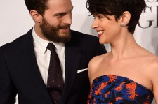 Jamie Dornan and Amelia Warner at the