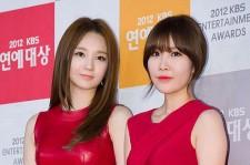 KBS Entertainment Awards Grand Prize Red Carpet 'Davichi'