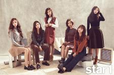 kpop april band @star1 magazine november 2015 photos 4